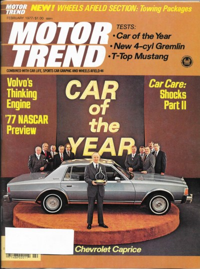Vintage Review: 1977 Chevrolet Caprice – Motor Trend Car ...