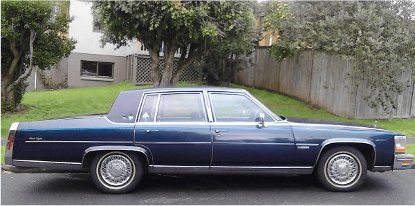 Cadillac 1981 COAL side