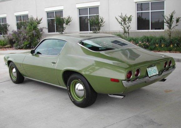 Camaro 1970 _SS_350_Rear_1