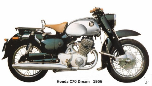 Honda 1956-C70-Dream