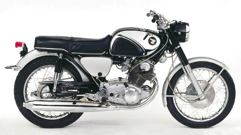 Honda 305 super hawk