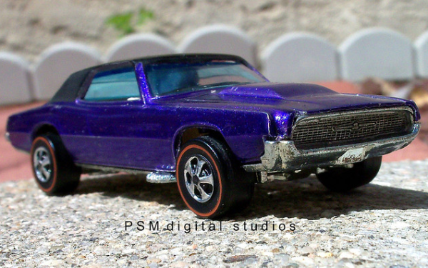 Hot wheels t bird