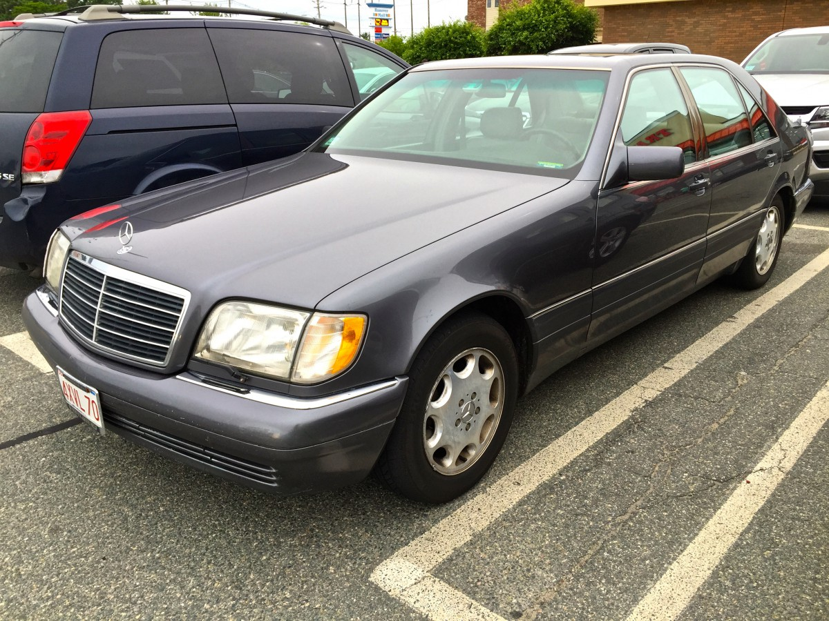 Curbside Classic: 1995 Mercedes-Benz S320 (W140) – Over