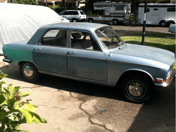 Peugeot 304 1971 side