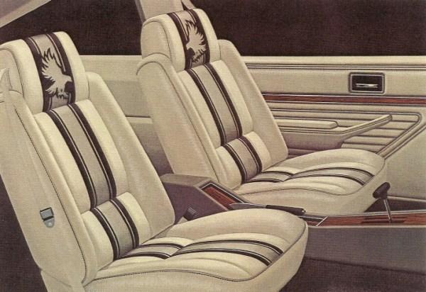 buick roadhawk seats