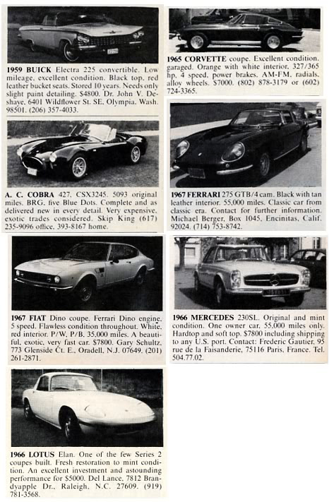 Classic Magazine Ads (And More): Road & Track, May 1979