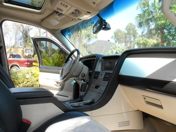 lincoln aviator kitty hawk interior