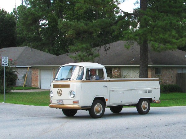 1969 VW T2 pickup Woodlands TX 20130824