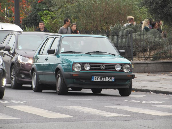 1983-92 VW Golf Notre Dame 20151107
