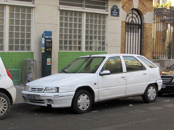 1991-98 Citroen ZX Marche d'Aligre 20151107