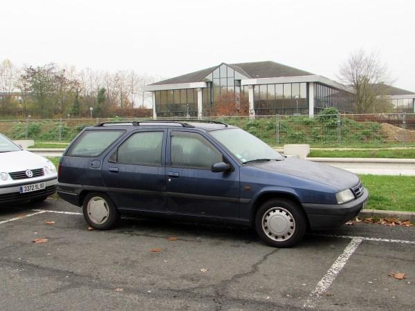 1991-98 Citroen ZX Wagon Parc des Expos 20151108
