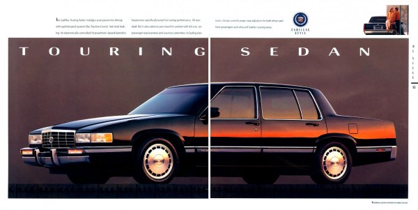 1992 cadillac deville touring