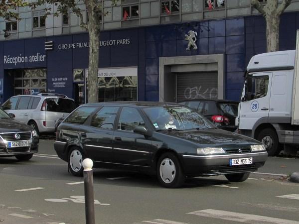 1995-2001 Citroen Xantia Wagon Rue Chateau-Landon 20151108