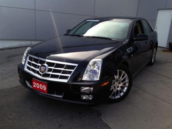 2009 cadillac sts platinum black