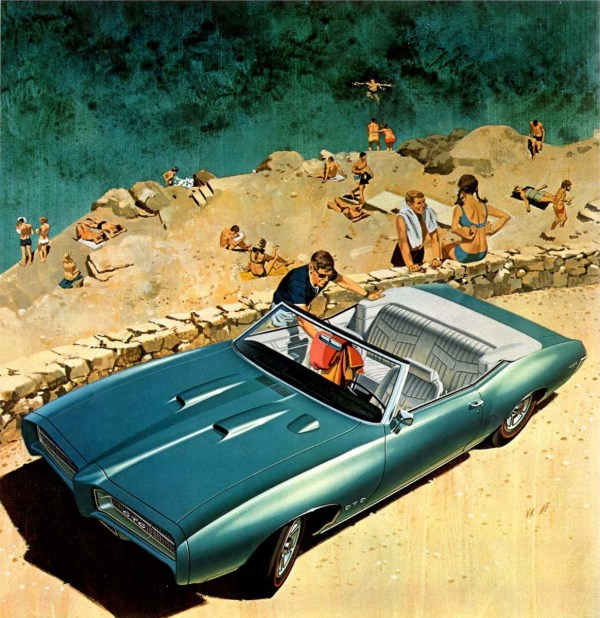 FK 1969_Pontiac_GTO_Convertible_Beach-at-Hydra_by_AF-VK