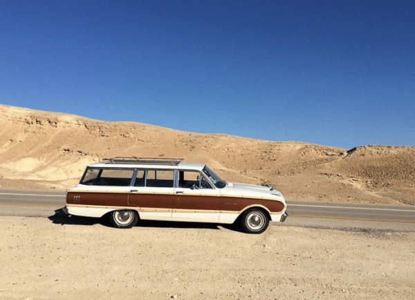 Falcon 1962 wagon Israle side
