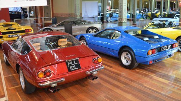 Ferrari 512 BB and Daytona