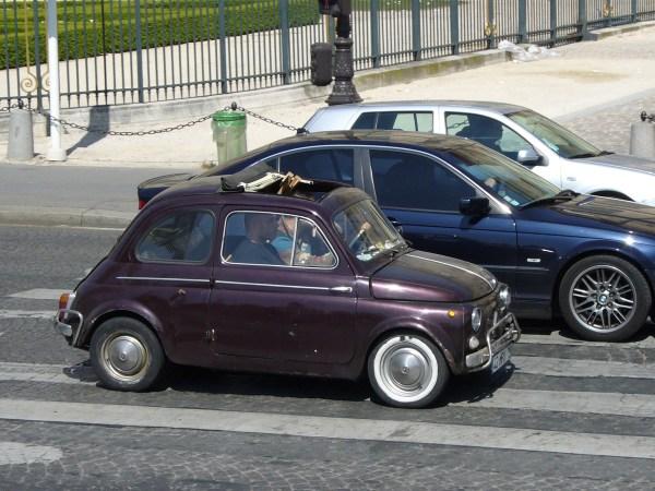 Fiat 500 Pont des arts 20070422