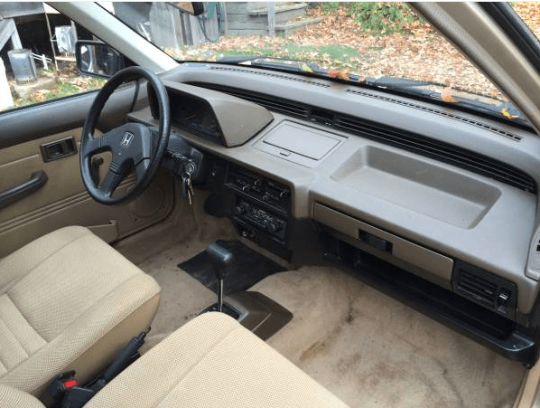 Honda 1987 civic wagon int