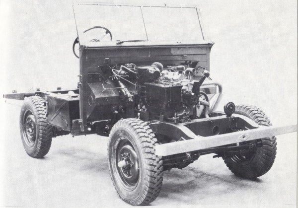 Land Rover chassis 1948.1