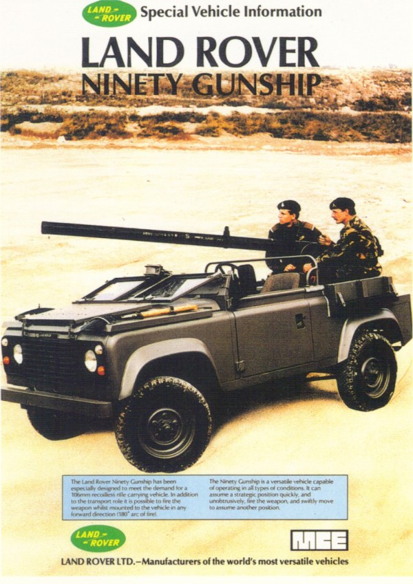 Land-Rover gunship