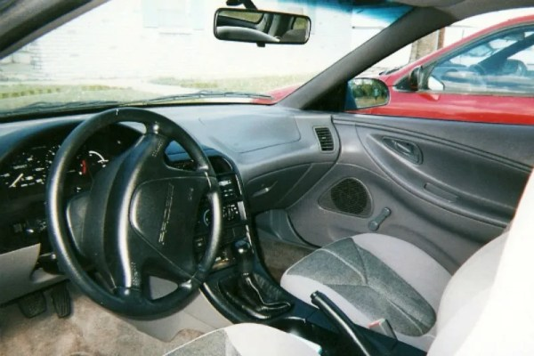My 1994 Ford Probe Interior CC