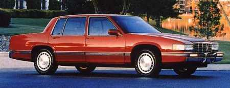 cadillac deville touring 1991 1992 1993