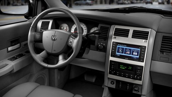 dodge durango 2009 interior