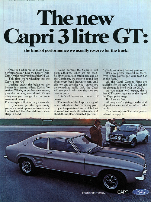 ford gb 1969 capri3000gt