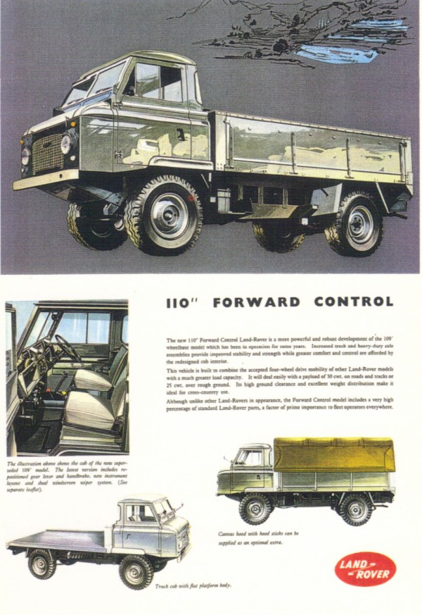 land rover fwd