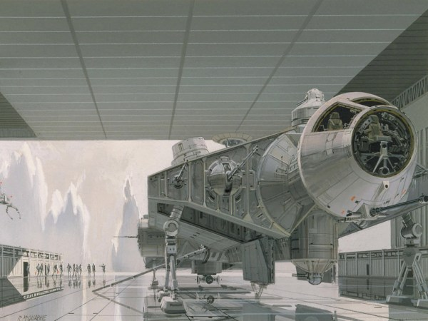 ralph_mcquarrie_art_of_captive_falcon_on_imperial_capital_planet_of_alderaan