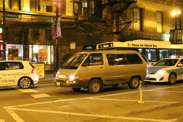 014 - 1988 Toyota Van LE CC