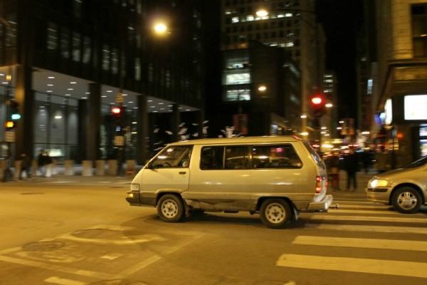 019 - 1988 Toyota Van LE CC