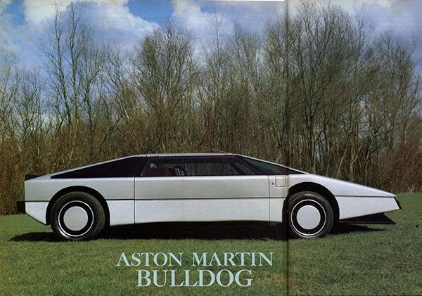 Vintage Review Aston Martin Bulldog - Aston martin bulldog