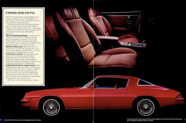 1980 Chevrolet Camaro Berlinetta CC