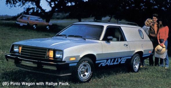 1980 ford pinto rallye cruising