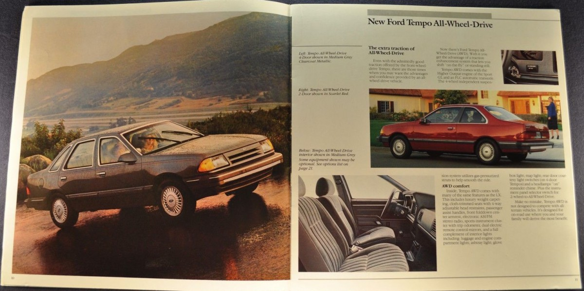 Ford Tempo Awd Brochure