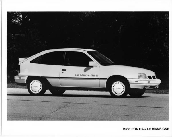 1988 pontiac lemans gse