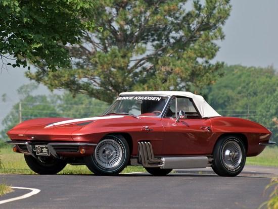 Corvette 1963 StingRayBunkieKnudsenConvertible1