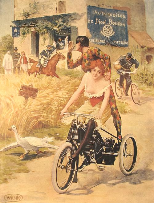 De Dion Bouton motor trike ad