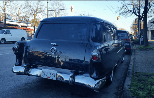 Pontiac 1956 sedan delivery rear