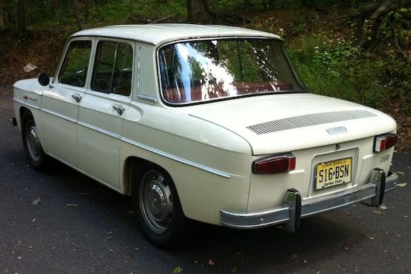 Renault R8 Sedan_For_Sale_Rear