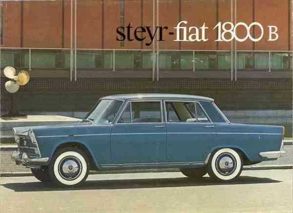 Steyr Fiat 1800B