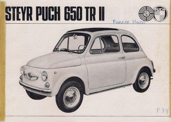 Steyr Puch 650 TR II
