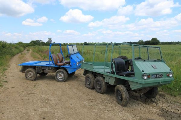 Steyr Puch Haflinger two