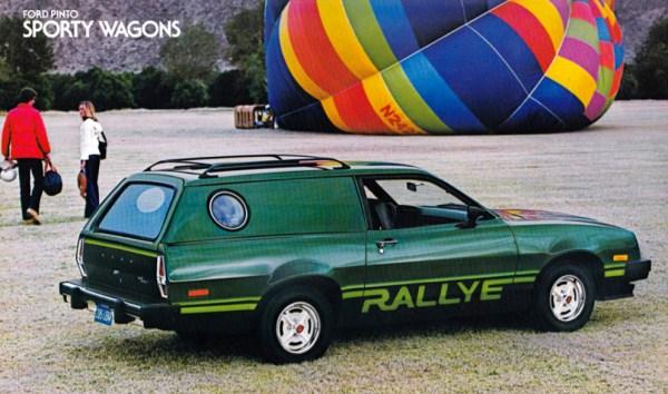 ford pinto rallye cruising wagon