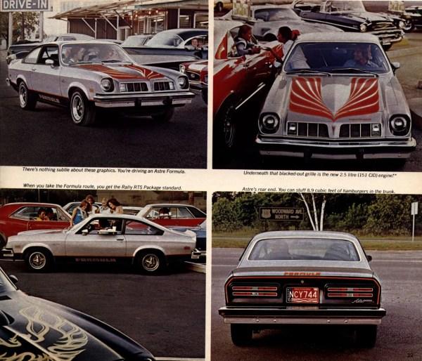pontiac astre formula 1977