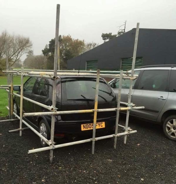 scaffolding corsa