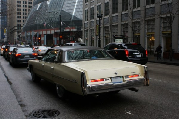 006 - Old '76 Cadillac, newish '11 SRX - CC