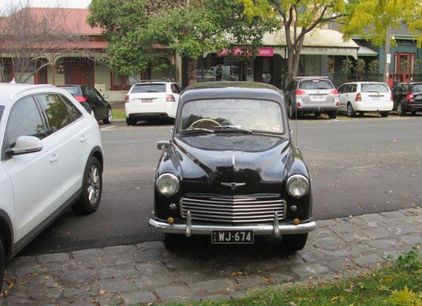 1951 Hillman Minx front